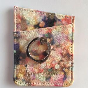 Betsy Johnson Cell phone card holder